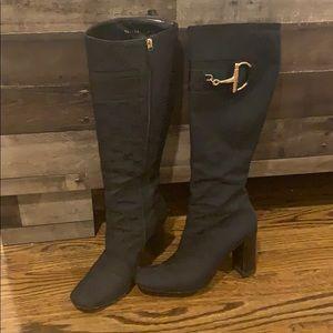 Authentic Gucci boots w/Horsebit detail